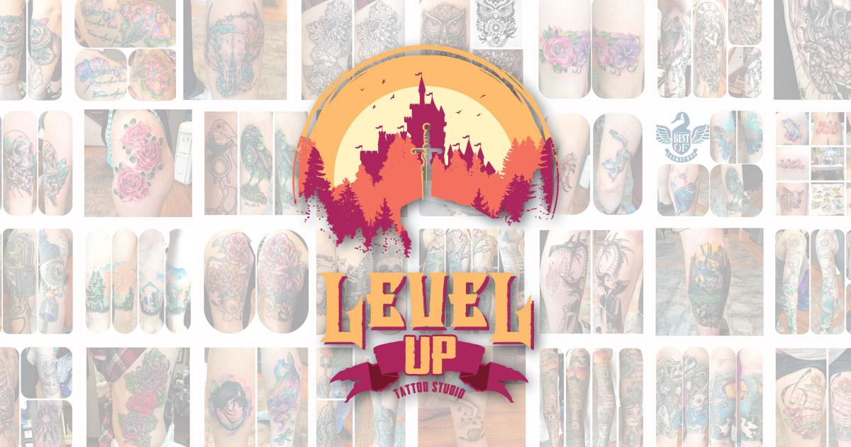 Experienced Saskatoon Tattoo Artist Level Up Tattoo Studio