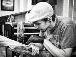 Trent Saskatoon Tatto Artist